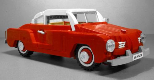 Lego Volkswagen Karmann-Ghia