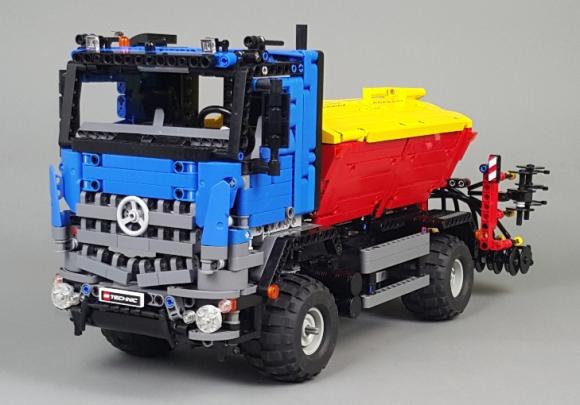 Lego technic mercedes benz arocs the lego car blog for Lego mercedes benz