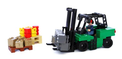 Lego Forklift Truck