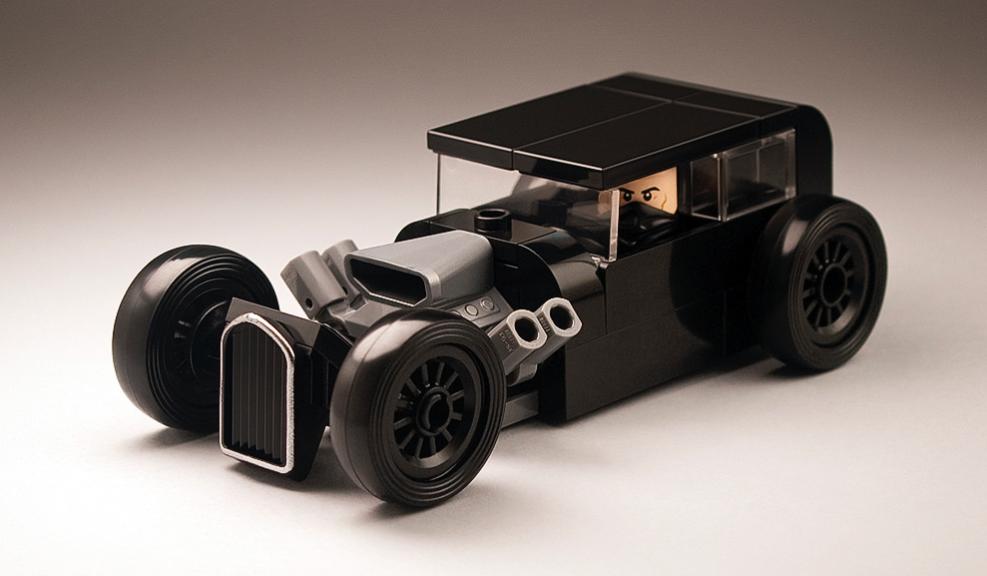 Lego Rat Rod The Lego Car Blog