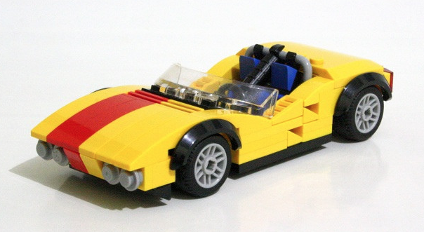 Race Car The Lego Car Blog