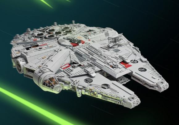 Lego Millenium Falcon Star Wars