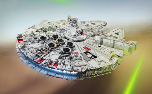Lego Star Wars The Force Awakens Millennium Falcon