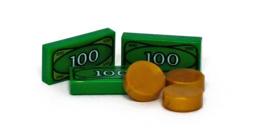 Lego Money Cash Coins