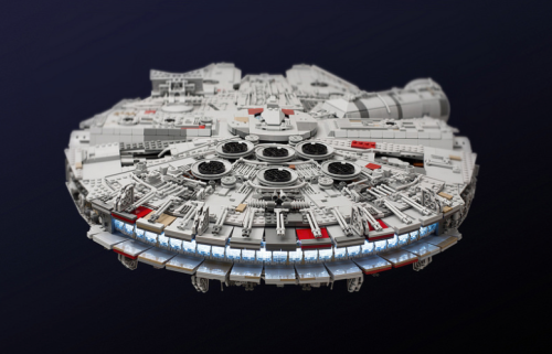 Star Wars The Force Awakens Lego Model