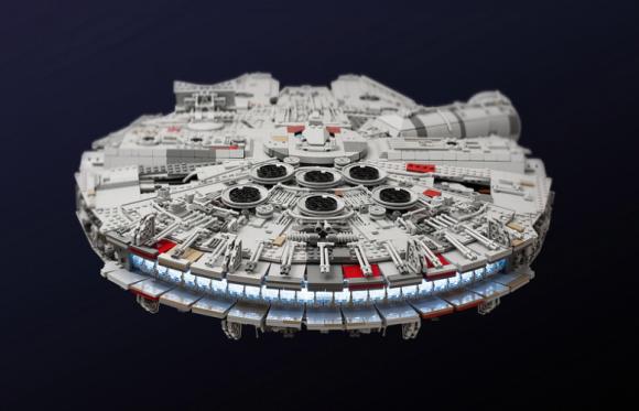 Star Wars The Force Awakens Lego Model