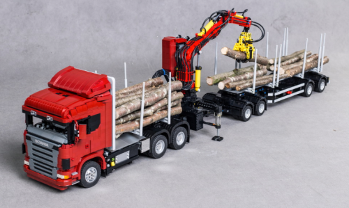 Lego Technic Logging Truck Power Functions