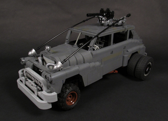 Lego Mad Max Fury Road Buick | THE LEGO CAR BLOG