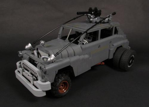 Lego Mad Max Fury Road Buick
