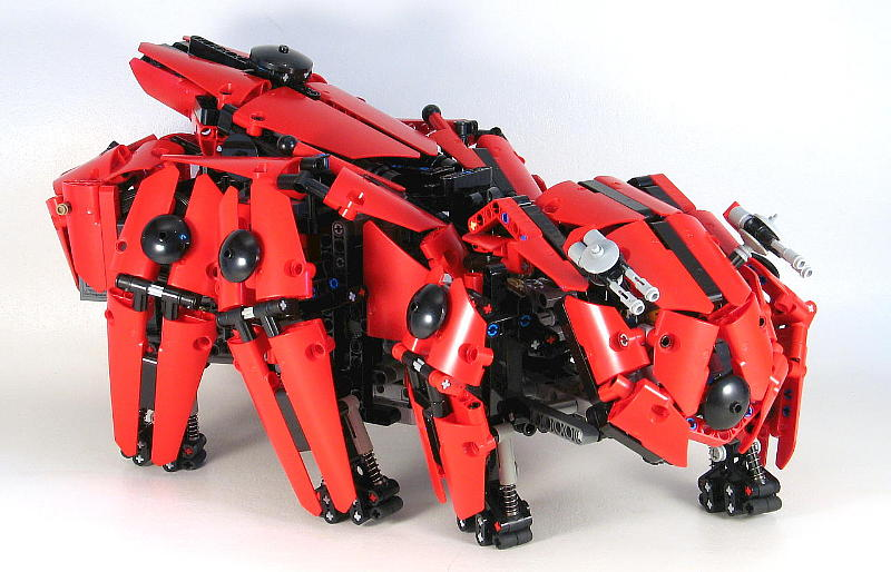 Technic Hexapod Mech The Lego Car Blog