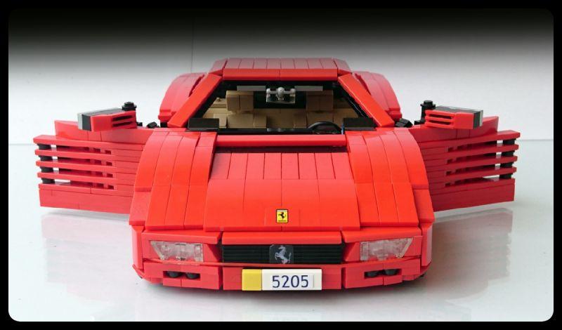 Lego Ferrari Firas Abu Jaber The Lego Car Blog