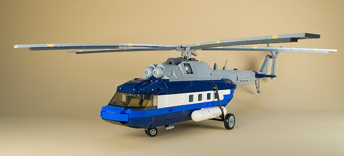 Lego Town Helicopter