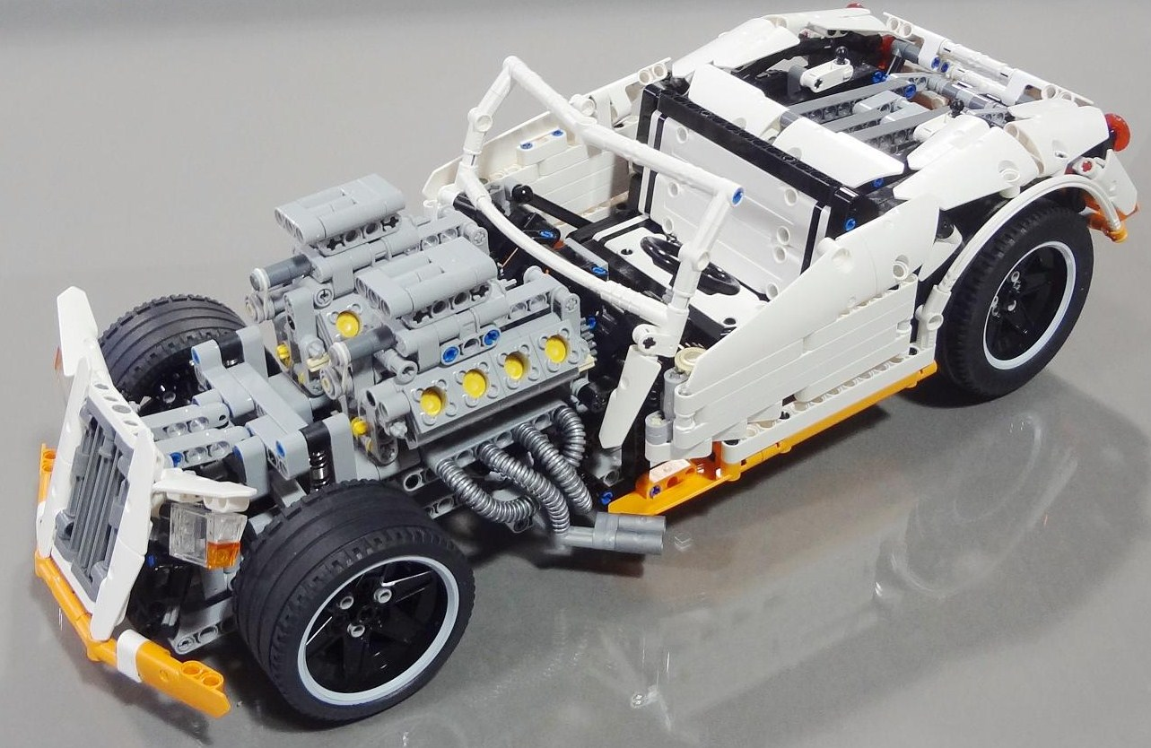 lego george barris hot rod crowkillers technic the lego. Black Bedroom Furniture Sets. Home Design Ideas