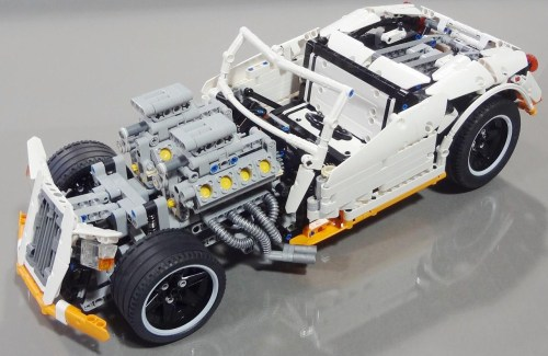 Lego George Barris Hot Rod Crowkillers Technic