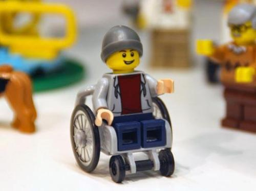Lego City Wheelchair