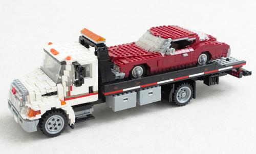 International Harvester Durastar Rollback Wrecker
