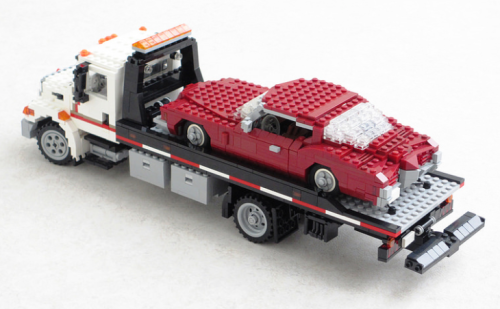 Lego International Harvester Tow Truck