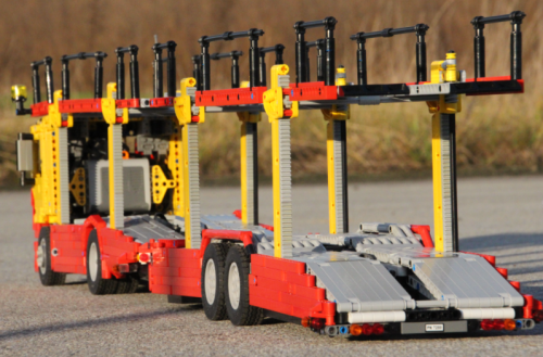 Lego Technic Car Transporter Mercedes