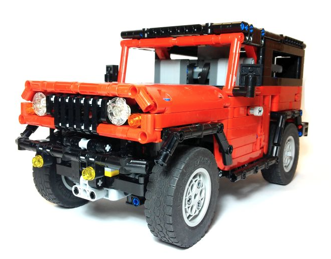 lego technic 4 4 the lego car blog. Black Bedroom Furniture Sets. Home Design Ideas