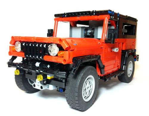 Lego Technic 4x4