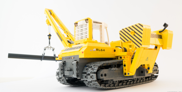 LEGO Liebherr RL 64 Pipelayer