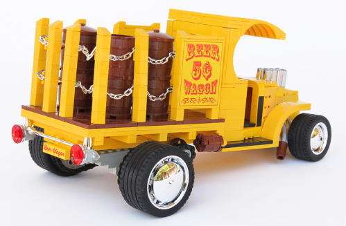 Lego Beer Wagon Hot Rod