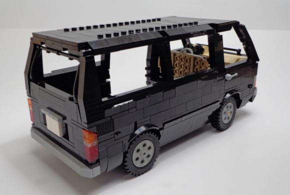 Lego Toyota HiAce