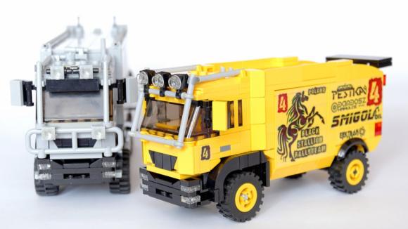 Lego MAN Truck Dakar