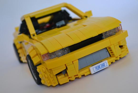 Lego Nissan Sileighty Rocket Bunny