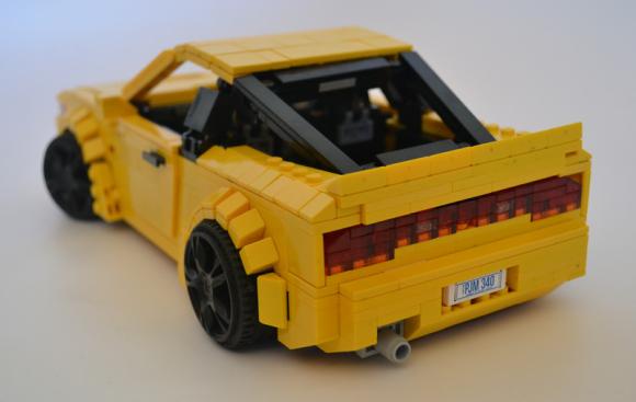 Lego Nissan 180SX