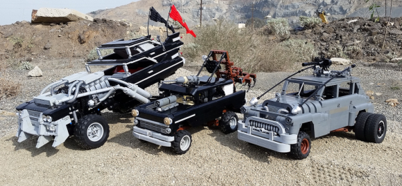Lego Mad Max Cars