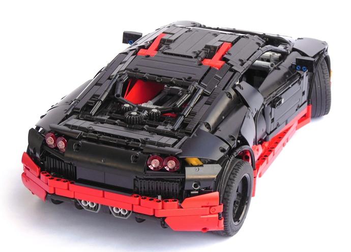 lego bugatti veyron ss the lego car blog. Black Bedroom Furniture Sets. Home Design Ideas