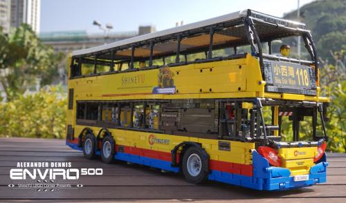 Lego Alexander Dennis Envrio 500 Hybrid Bus