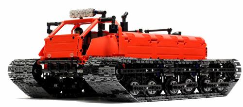 Lego Technic Arctic Explorer Remote Control