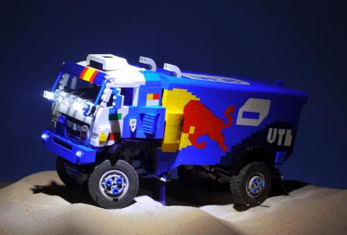 Lego Kamaz Master Dakar Truck
