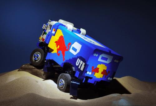 Lego Kamaz Dakar Rally Truck Red Bull