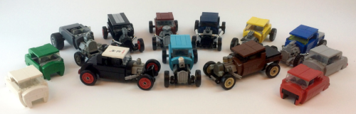 Lego Town Hot Rod Rat Rod