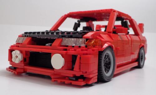 Lego Mitsubishi Evo V