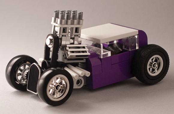 Lego Purple People Eater Hot Rod