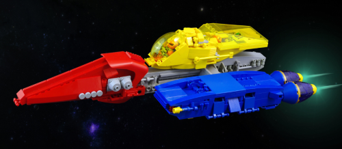 Lego Sci-Fi Spaceship