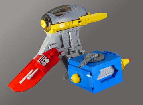 Lego Starfighter RMX
