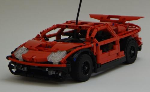 Fast RC Lego Car