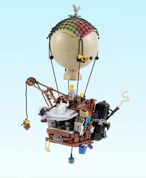 Lego Hot Air Balloon