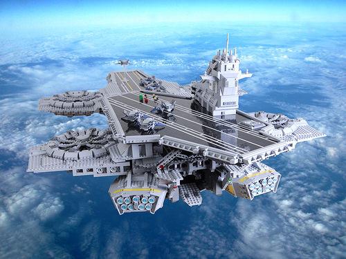 Lego Avenger's Helicarrier