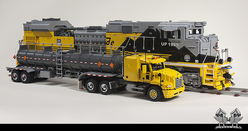 Lego Union Pacific Train