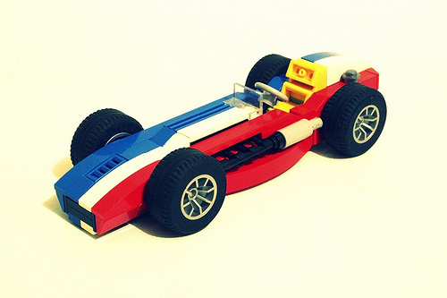 Lego Indy 50o Race Car