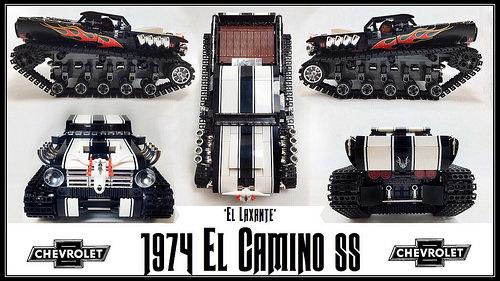 Lego Chevrolet El Camino Tank