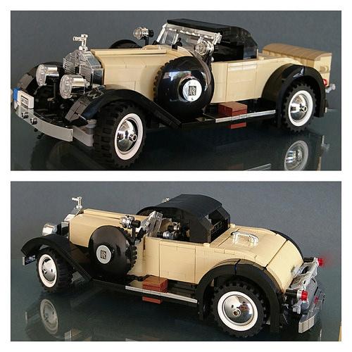 Lego Rolls Royce Silver Ghost