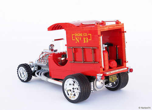 Lego Hot Rod Fire Truck