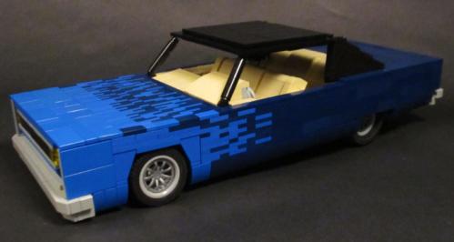 Lego Plymouth Fury 1968
